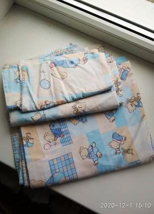 Детское постельное белье комплект