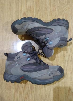 Ботинки salomon треккинговые gore-tex