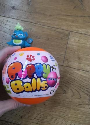 Фантастическая игрушка сюрприз puppy balls
