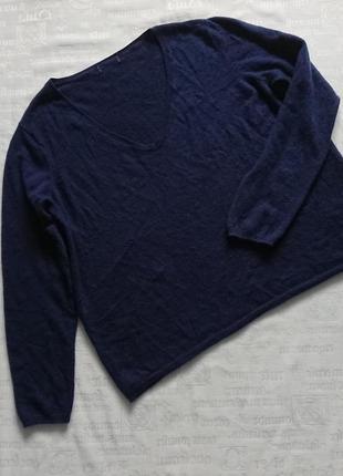 Теплый пуловер ellos (швеция), свободная кофта/свитер 100%кашемир
