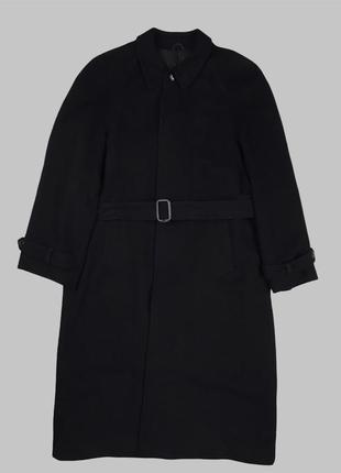 Оригинальное мужское пальто из материала loro piana