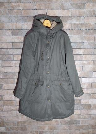 H&m l.o.g.g. оригинал шикарная зимняя куртка курточка пальто парка размер l