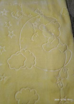 Детский плед одеяло покрывало