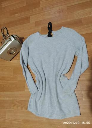 Нарядный свитерок кофта с люрексом новогодний свитер