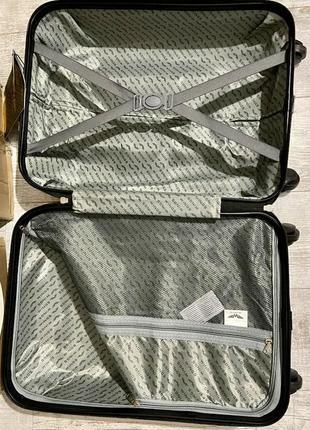 Желтый чемодан wings 147 4 размера4 фото