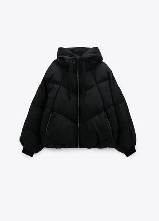Zara пуховик куртка зара