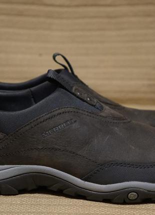 Фирменные кроссовки merrell women's murren moc waterproof shoe, pewter 39 р.