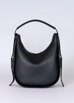 Стильная женская сумка цвет черный