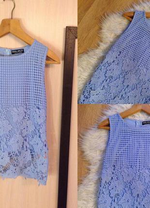 Шикарная блуза небесного голубого цвета select