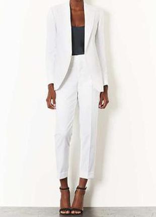 Белые брюки штани selected