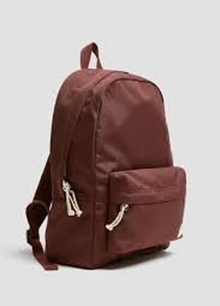 Крутой качественный рюкзак pull&bear