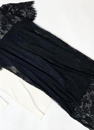 Платье divided кружево ресничка