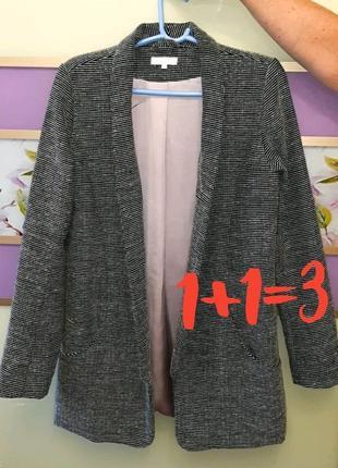 🎁1+1=3 элегантный удлиненный модный женский пиджак оверсайз vila, размер 44 - 46