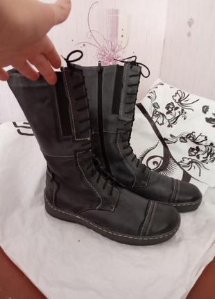 Зимові ботинки-чоботи польша