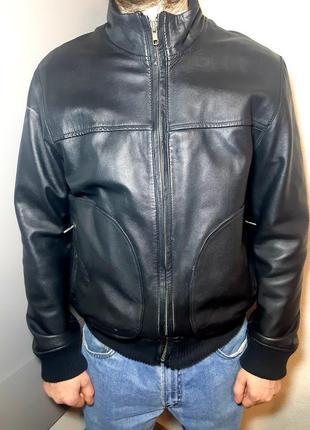 Очееь крутая кожаная куртка debenhams розмер  m