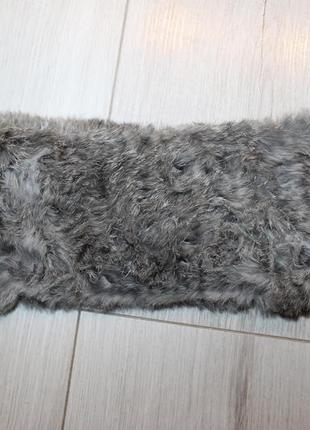 Фирменная крутая меховая повязка от brekka