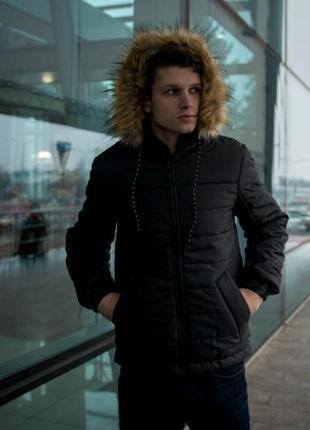 Куртка-пуховик тёплый