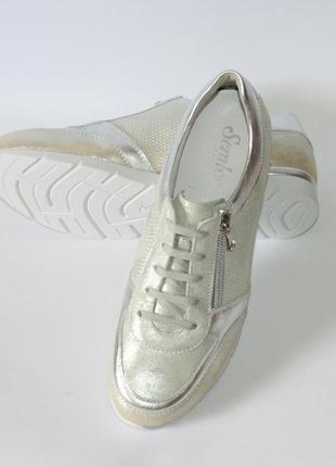 Кроссовки - сникеры semler оригинал германия натуральная кожа 37-41