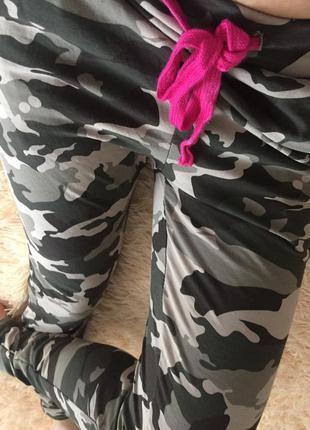 Камуфляж спортивные штаны today р.xs
