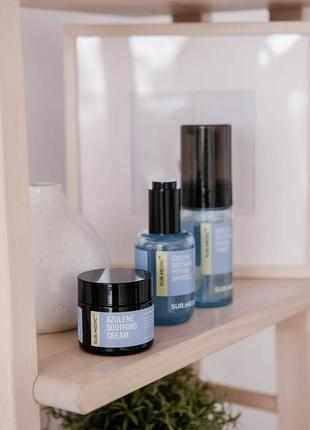 🟣успокаивающий крем с азуленом neogen sur.medic azulene soothing cream 50ml