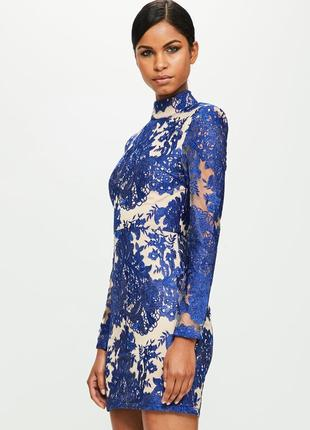 Peace + love ажурна синя сукня на новий рік