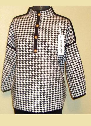 Плотный,теплый, вязаный свитер , джемпер ,sweet lady ,р.48-56