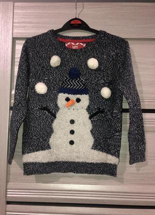 Новогодний свитер rebel