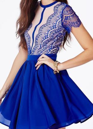 Missguided ніжна сукня ажурний мереживний верх