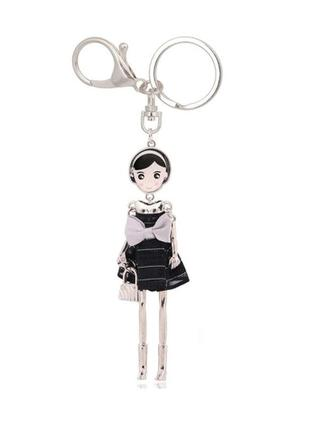 Есть варианты! крутой брелок на сумку девочка кукла куколка брелочек брелоки
