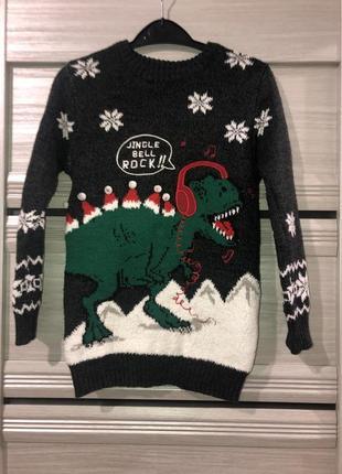 Новогодний свитер джордж