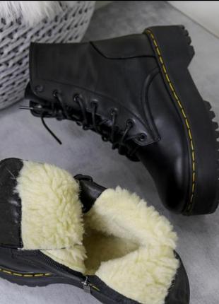 Ботинки кожаные  🔥🔥🔥в наличии ❄❄❄ и демисезон