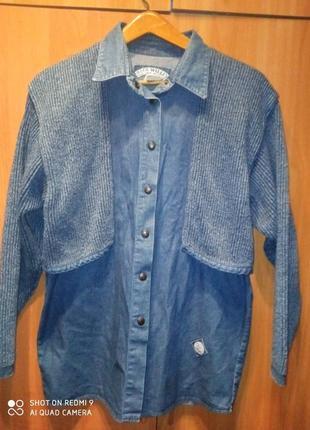 Курточка джинсовая бренд blue willi's