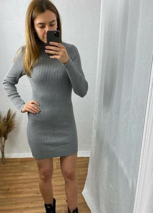 Плотное платье - гольф