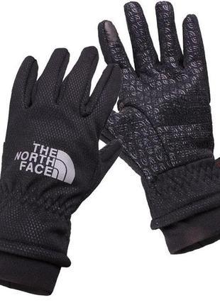 Перчатки the north face winter black / женские / мужские / зимние с сенсорным пальцем