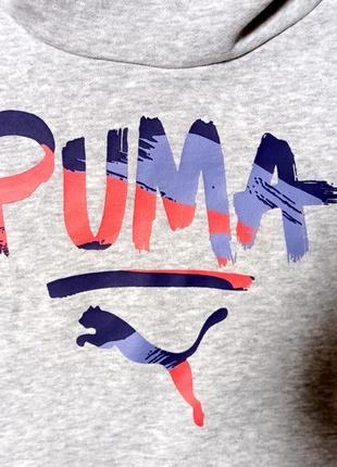 Толстовка puma contrast hoodie  834325(р l)