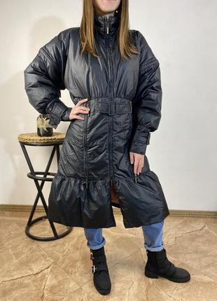 Пальто пуховик just cavalli