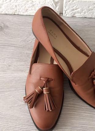 Туфли с китичками zara
