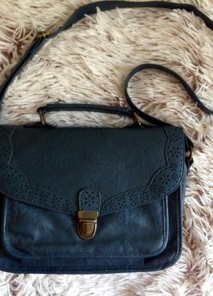 Стильна синя сумочка