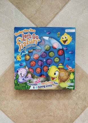 Настольная игра занимательная рыбалка lets go fishing   under the sea pressman toys