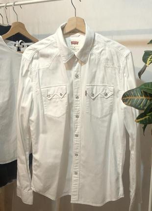 Актуальная винтажная рубашка levi's