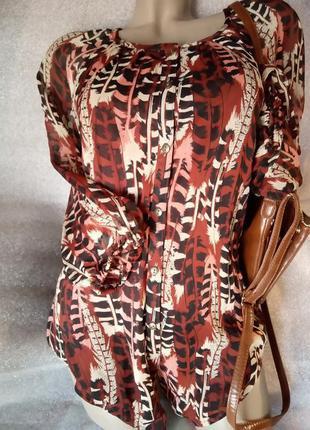Классная блуза с подкладкой морсала ostin