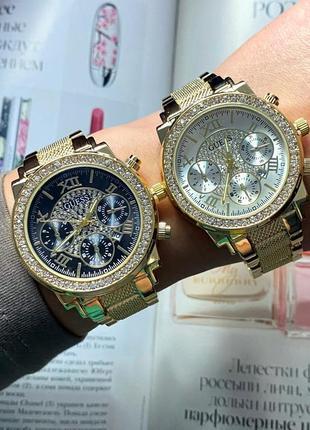 Крутые часы золото серебро