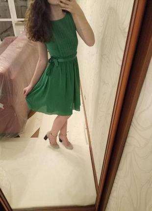 Шифоновое платьице
