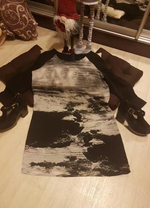 Красивое платье reserved 46 р
