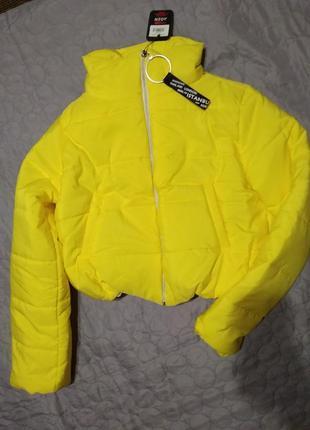 Акции до 20.12 яркая мега стильная куртка 🍁 xs s m