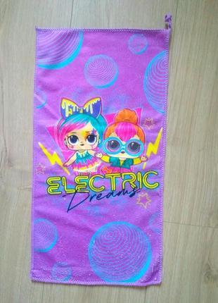 Дитяче полотенце з лялічкою лол/lol / детское полотенце
