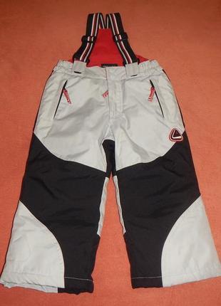 Лыжные штаны полу комбинезон h&m р.98см(2-3года)