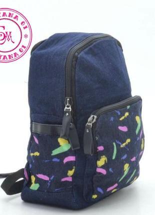 Джинсовый рюкзак little pigeon