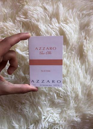 Пробники туалетной воды azzaro pour elle 1,5 ml