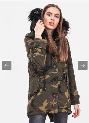 Зимняя дутая курточка